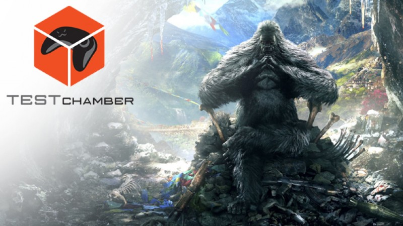 Test Chamber Far Cry 4 S Valley Of The Yetis Dlc Game Informer