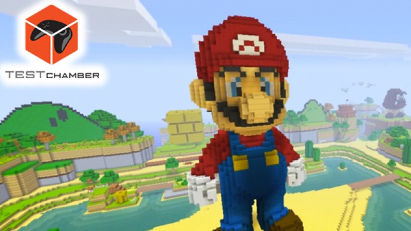 Test Chamber – The Coolest (And Most Disgusting) Secrets When Mario Meets Minecraft