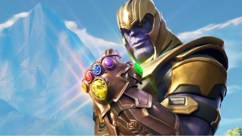 Thanos In Fortnite Has Already Been Nerfed Game Informer