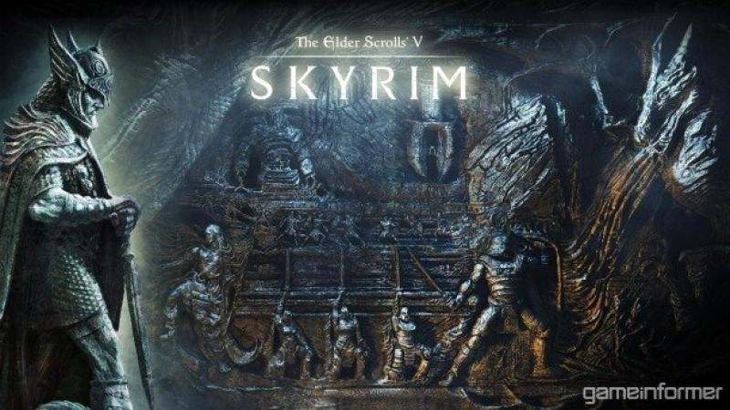 The Elder Scrolls V Desktop Wallpapers Game Informer
