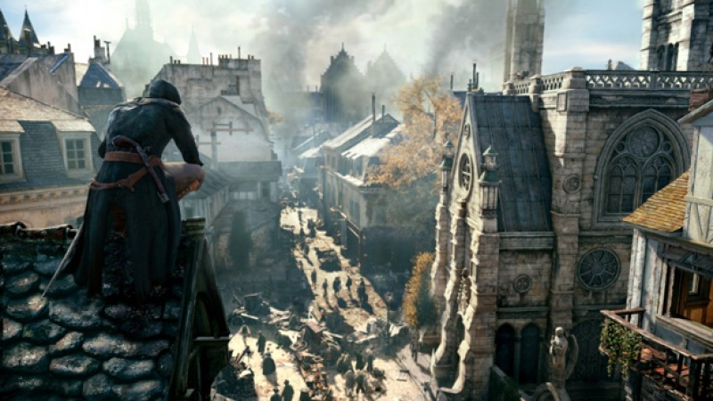 The New Gameplay Of Assassin S Creed Unity Game Informer