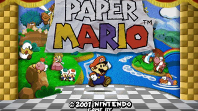The Nintendo 64's Paper Mario Now Available On Wii U Virtual Console
