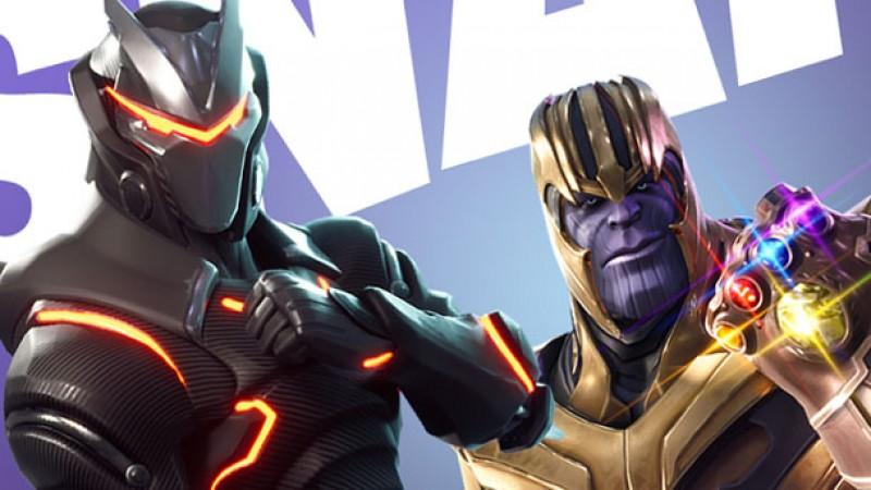Thanos fortnite thumbnail