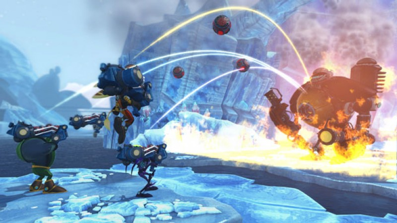 Ratchet Clank All 4 One Is For All The Fans Of Co Op Platforming Game Informer