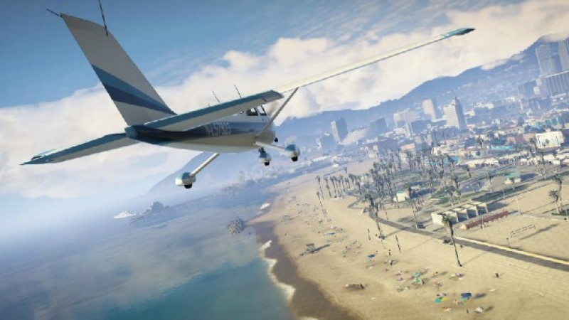 Touring The Open World of Grand Theft Auto V