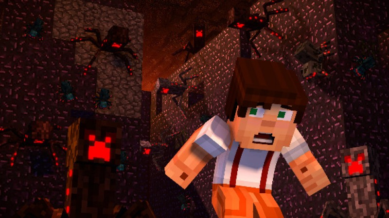 Minecraft Story Mode Season Two Review Unearthing Fool S Gold Game Informer