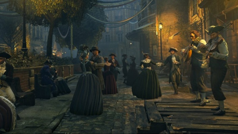 Watch The Largest Crowd Assembled In Assassin S Creed Unity Game