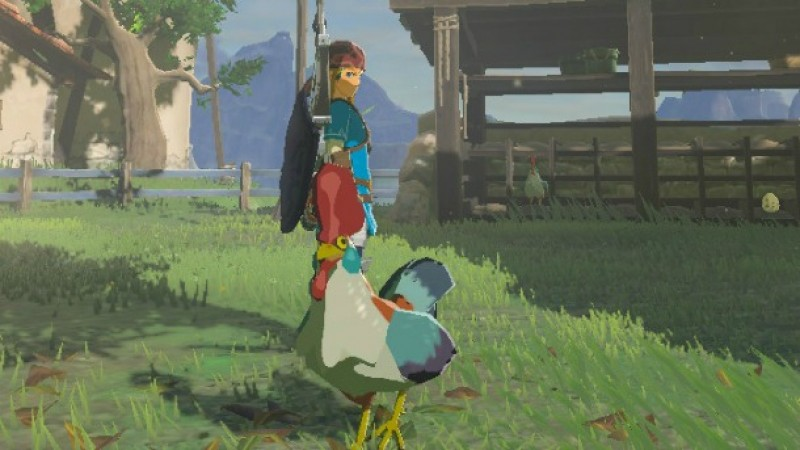 What Happens When You Throw A Cucco Into Zelda: Breath Of The Wild's Volcano