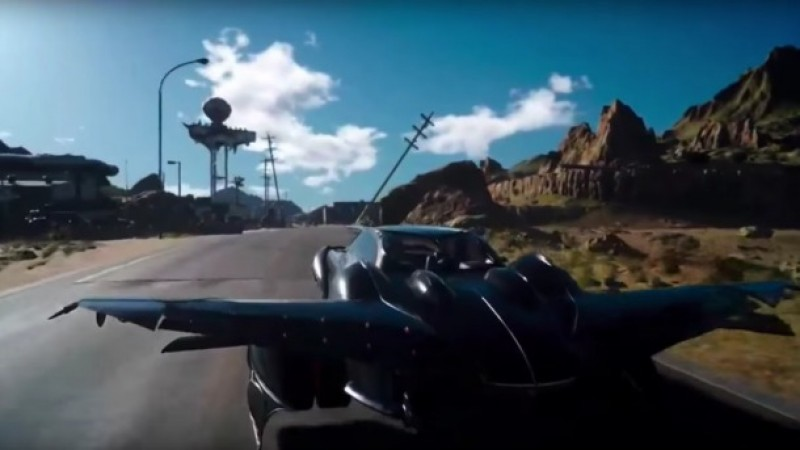 What You Need To Know About Final Fantasy XV's Flying Car - Game