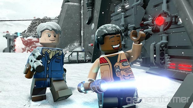 Where Lego Star Wars: The Force Awakens And Disney Infinity's Playset Part Ways