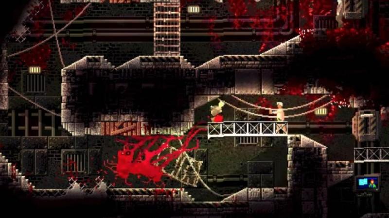 Be The Villainous Monster In The Upcoming Horror Game Carrion Game Informer