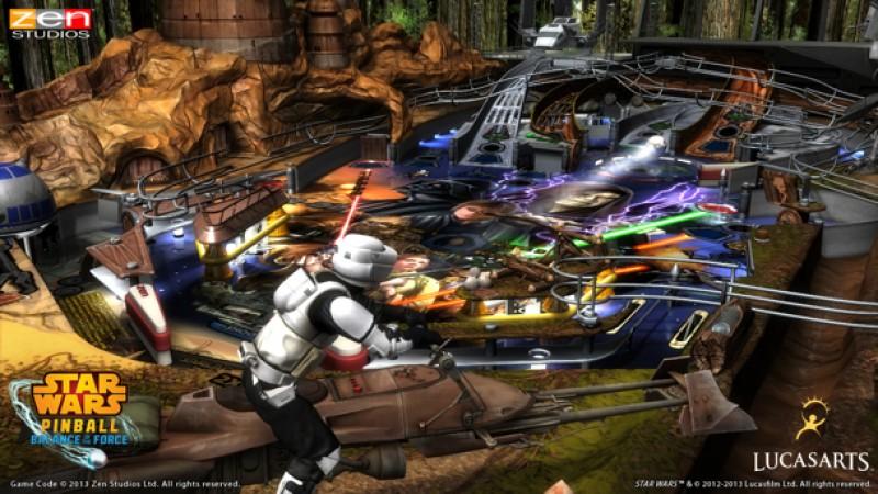 Zen Studios Readying Three New Star Wars Pinball Tables In