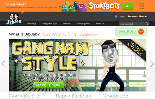 JibJab's GangNam Style