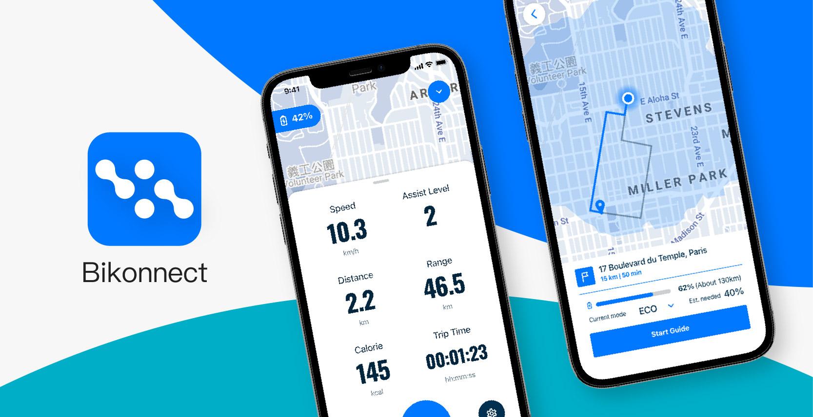 Bikonnect E-Bike App