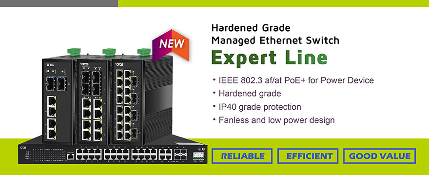 New Managed Switch Product – Expert Lines