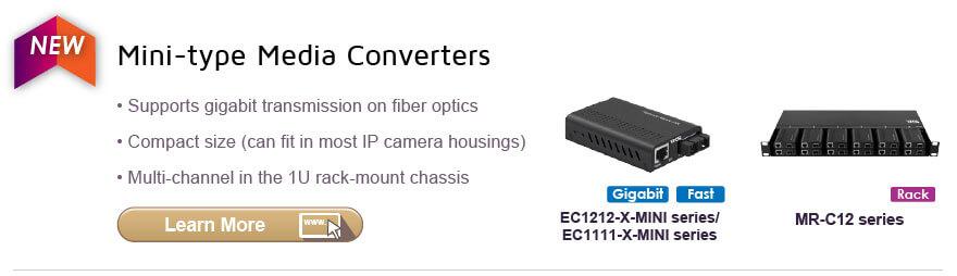 Mini-type Media Converters