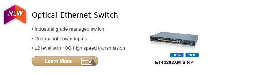 Optical Ethernet Switches
