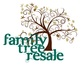 Family tree resale logo