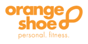 Orange shoe logo