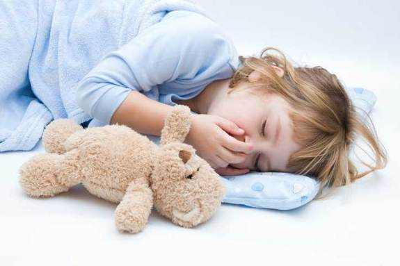 Five steps for children sleep
