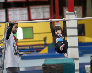 Kids with developmental differences get therapy through gymnastics.