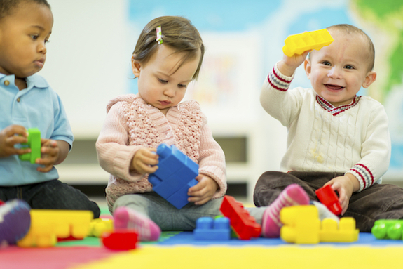 Daycare is a great child care option for some families.
