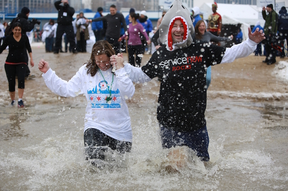 Chicago Polar Plunge is a way to help Chicago athletes with intellectual disabilities.