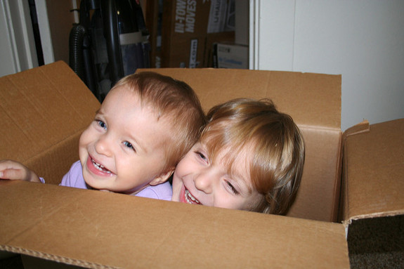 How to make moving with kids less stressful
