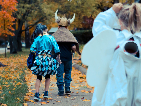 Best neighborhoods to trick or treat in Chicago