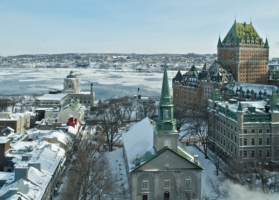Winter break destinations from Chicago: Quebec City, Canada