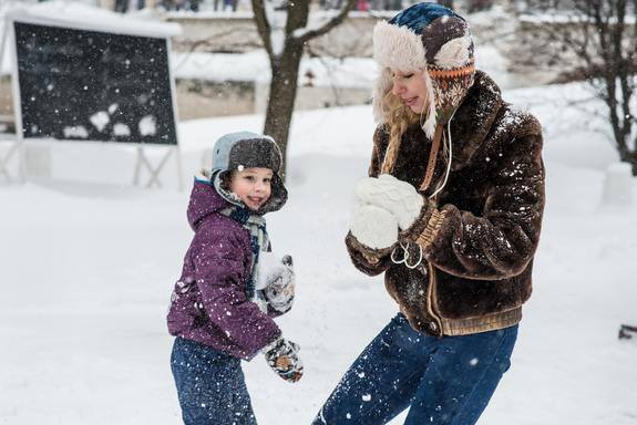 Chicago winter activities with kids