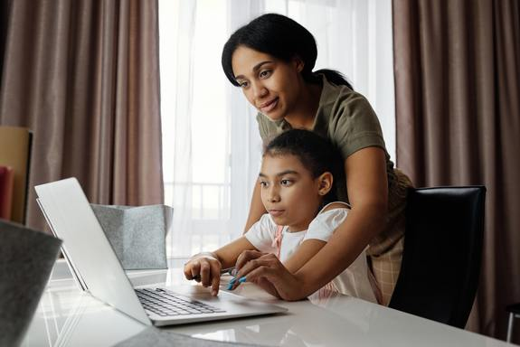 Remote learning while co-parenting