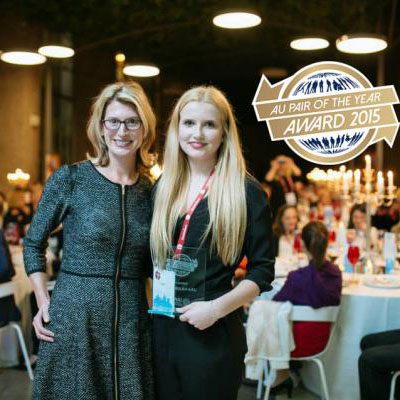 Au pair care au pair wins international au pair of the year