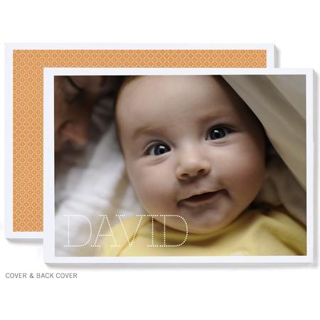 Marquee Monogram Photo Book