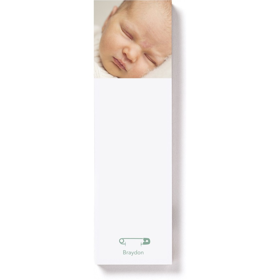 Magnetic List Pad with Diaper Pins