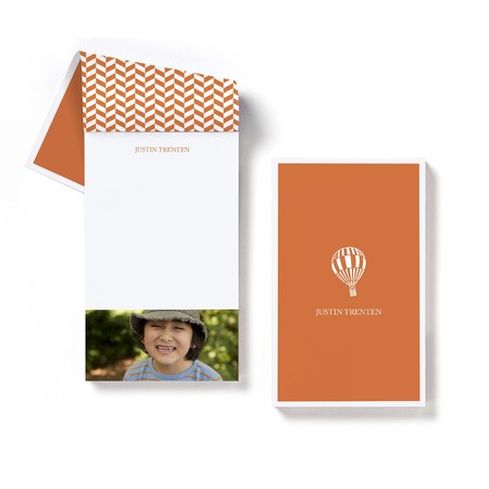 Hot Air Balloon Notepad