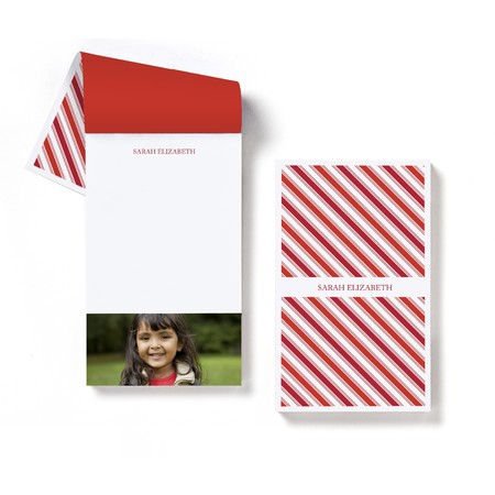 Ticking Stripe Notepad