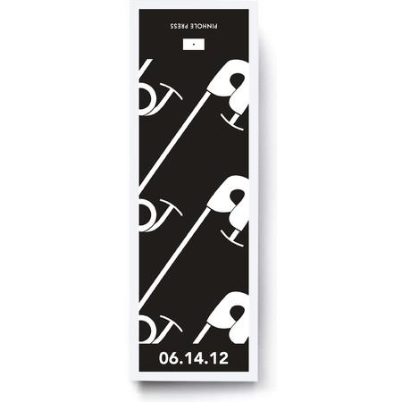B&W Diaper Pins Gift Labels & Bags