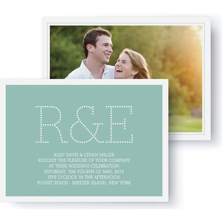 Marquee Wedding Invitation