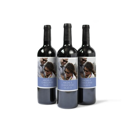 Personalized Wine Labels for Weddings