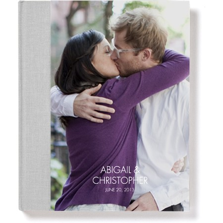 Signature Hardcover Photo Book with Modern Font