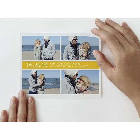 Tailored Collage Save The Date Photo Decal