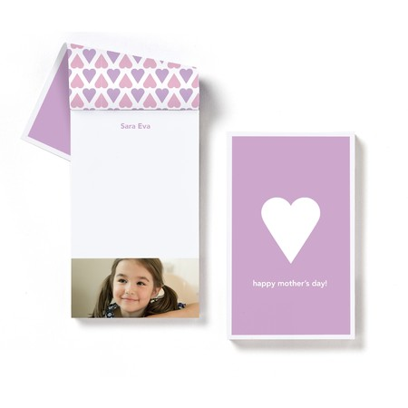 Heart Notepad
