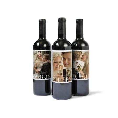 Custom Photo Wine Labels
