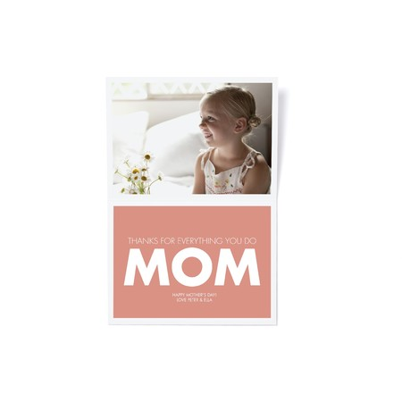 Mother's Day Ombre Card