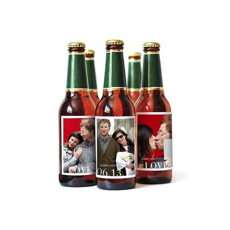 Custom Beer Labels with 3 Unique Photos