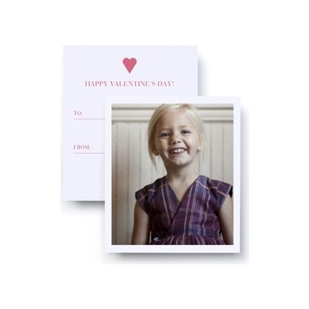 Kid's Valentine's Day Card