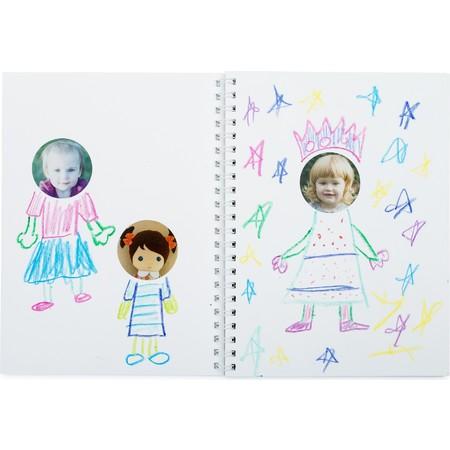 Family Faces Custom Sticker Book