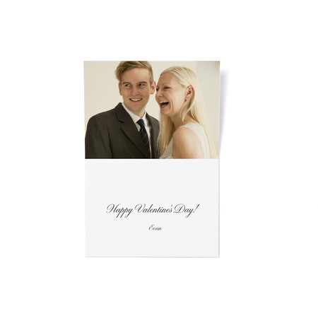 With Love Valentine's Day Card