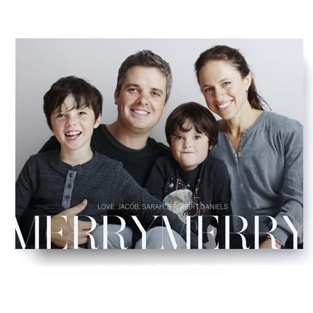 Merry Merry Photo Card